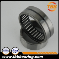 Needle roller bearing with flange, with inner ring NA4900