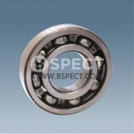 Single row deep groove ball bearing 6003-2RS
