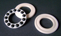 Ceramic single direction thrust ball bearings