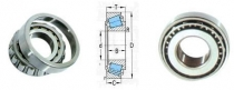 Single Row Tapered roller bearing 30203